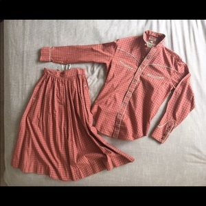 Vintage Ralph Lauren western wear-women's set